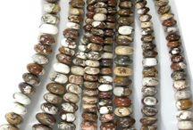 Wild Horse Gemstone Beads, Wild Horse Cabochons, Wild Horse Handmade Jewelry / Wild Horse Gemstone Beads, Arizona Wild Horse Cabochons, Wild Horse Handmade Jewelry, Arizona Wild Horse Magnesite