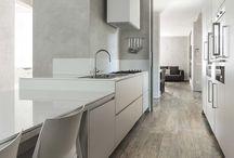 kitchen wooden tiles colors