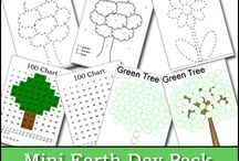 Earth Day --- caring for God's creation / Earth Day and caring for God's creation in preschool