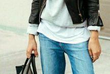 Rento naisellinen vaatetyyli