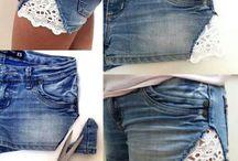 kleding pimpen / ideeën om kleding te pimpen