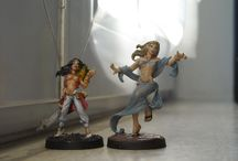 Only Female Miniatures - personaggi femminili / Miniature 28mm Fantasy