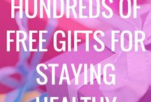Healthy Deals / Reviews and Freebies for Staying Healthy