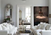Ballet photos in interior