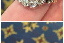Vintage Engagement & Wedding Rings / Vintage engagement rings and vintage wedding rings are all the rage.  Find out what vintage stones hold up besides diamonds. Vintage Garage Chicago will be vintage wedding inspired 3rd Sunday in August 20. Our Chicago Vintage Clothing & Jewelry Show is March 2/3 2018  www.vintageclothingandjewelry.com