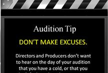Acting and Audition Tips
