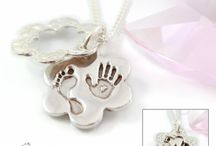 Hand & Footprint Keepsake Jewellery / Your actual hand, foot & fingerprints on pure silver jewellery!  Hand crafted to the highest standard!