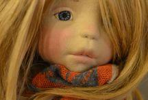 Вальдорфские куклы / куклы текстильные