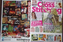 Cross Stitch Patterns & Kits / These cross-stitch patterns are designed from original works of art. / by Rosie Brown
