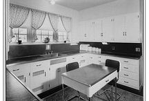 Kitchen Design History / Our designs influences include the motion studies of Lillian and Frank Gilbreth and The Kitchen Practical models by Lillian Gilbreth,  / by Sam Clark Design