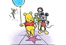 Pooh Bear & Mickey