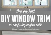 Window Trim and Baseboards