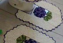 tapetes crochet