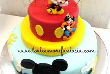 Mickey Mouse Cake / #Mickey #mouse #cakes #Torte #Decorate #Castelli #Romani Torte Amore & Fantasia —  Lab Torte AmoreFantasia