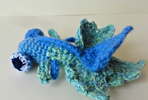 Crocheted and Cute Animals / Crocheted, knitted, embroidered and cute animals.