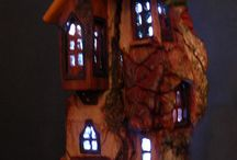 CARVING (Fairy Houses)
