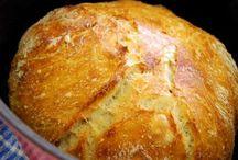 långjäst bröd i järngryta