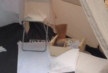 Tent camping glamcamping