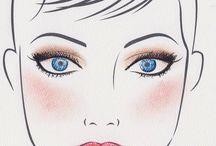 Jane Fonda's makeup
