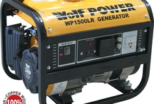 Wolf Petrol Generators - UKHS.tv / Wolf generators are built to last and provide a reliable source of power whether you need it on standby, at work or for leisure. Fitted with 100% copper wound alternators.