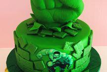 Gateau Hulk