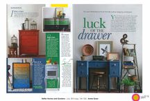 Chalk Paint™ in the Media / It's always exciting to see our beloved Chalk Paint™ featured in the glossy pages of home design magazines! We've shared our favourite examples here for inspiration...
