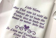 Hochzeit ❤ Mama Geschenk