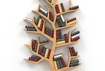 Tree bookshelves