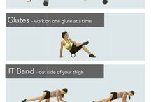 Stretching and foam roller