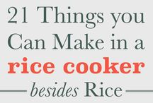 Food | Rice cooker meals
