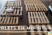 "Palets en Miniatura / Palets hechos a escala "" miniatura"""