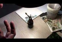 Video paintbrush airbrush / Techniky malování a používání airbrush