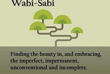 wabi-sabi / by Pam Delossantos