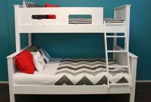 Urban Kids Bunk Beds / Choose from our fantastic collection of NZ made kids bunk beds and transform your kids bedroom.