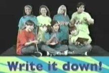 Retro PBS public TV