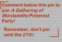 A Gathering of Wordsmiths, 12-27-14 / Welcome to the Pinterest Party! Come find a seat, enjoy a cookie and a cup of tea, and have fun interacting with other Christian writers! It's a place for friendship, for the sharing of writing prompts, articles, tips, or pictures of party food. Challenge each other to Word Wars or arrange to have your characters meet up. THE RULES: All MUST be APPROPRIATE FOR YOUNG AGES. Violators of this will be REMOVED WITH NO WARNING. We start on December 27th at 10:30 AM Central Time, and go on until 5 PM.