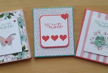 My Stampin' Up! Covered Notebooks