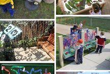 Diseño patio escolar