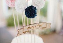 wedding cakes & ideas