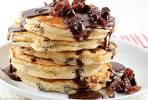 National Pancake Day! / inspired by National Pancake Day, we scoured the web for some great classic and creative pancake recipes, perfect for breakfast, lunch, dinner, dessert, and snack time! Who doesn't love a nice warm comforting pancake?