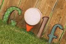 Decorate with Golf!