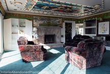 Gorgeous Abandoned Haunted Creepy Mansion