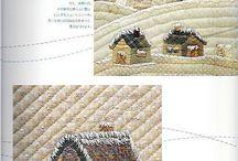 patchwork / quilt et appliques