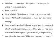 Werksaansoek tips
