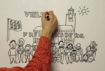 My whiteboard films, MONDAY / Informational films, drawn on whiteboard. Production: MONDAY FILM