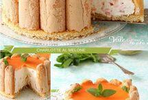 ricetta  della  torta  torta  al. mascarpone e  melone
