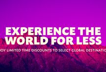 Experience the World for Less / Save big $$$ when compared to other tour providers!