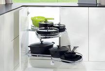Systemy wyposażenia kuchni / Systemy i akcesoria, które uczynią Twoją kuchnię funkcjonalną i uporządkowaną.