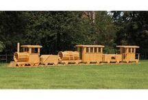 wood trains