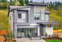 Trails in Newcastle / Open contemporary design single family homes.  http://www.connerhomes.com/communities/trails/